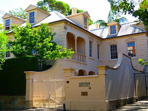 Phillip Adams - Stoneleigh, Darlinghurst, New South Wales, Adams's former home