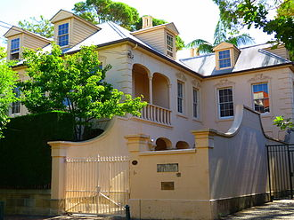 Phillip Adams - Stoneleigh, Darlinghurst, New South Wales, Adams's former home