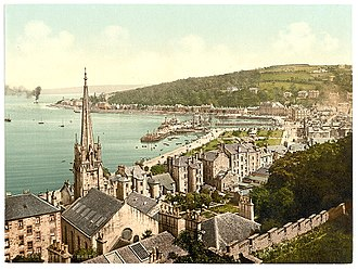 Isle of Bute - Rothesay at the end of the 19th century