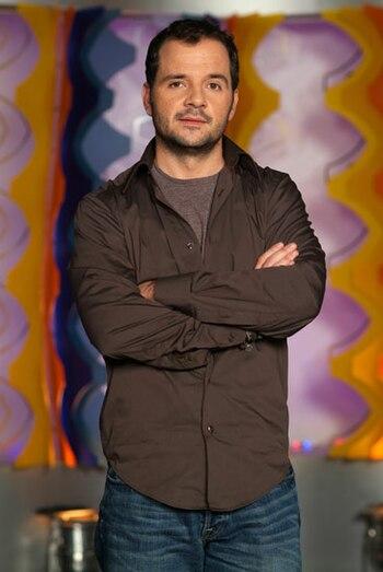 El cómico y presentador Ángel Martín.