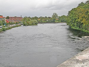 Ätran (river), photo from Falkenberg.JPG