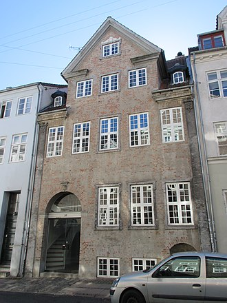 Listed buildings in Copenhagen Municipality - Image: Åbenrå 25 (Copenhagen)