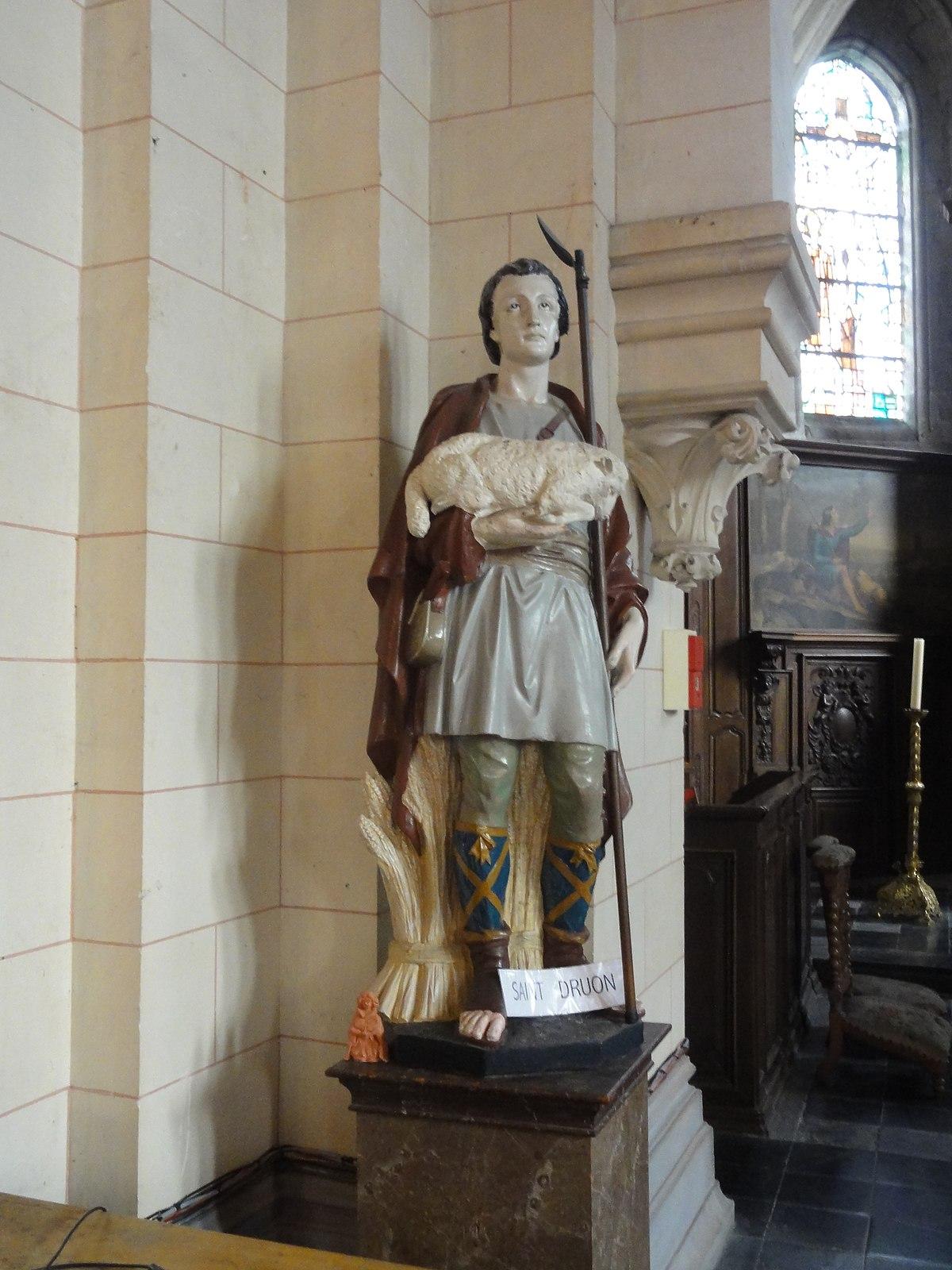Px C Glise Saint Druon De Sebourg