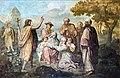 Église Saint-Martin de Castelnau-d'Estrétefonds - La Prédication de saint Jean-Baptiste par Robert Arsène IM31000072.jpg