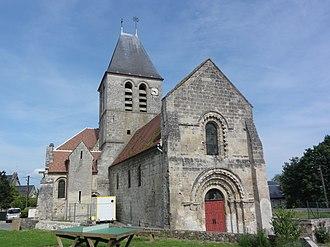 Condé-sur-Aisne - The church of Condé-sur-Aisne