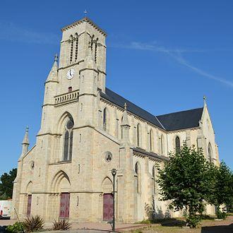 Belleville-sur-Vie - The church of Belleville-sur-Vie