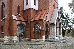 Łubowice, Silesian Voivodeship - Image: Łubowice, kostel