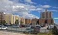 Брайтон-Бич парковка и дома у променада Ригельмана.jpg