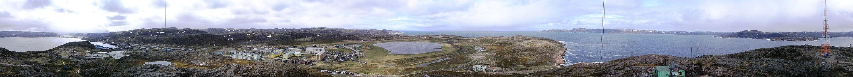 Панорамный вид на северную часть села (Лодейный)