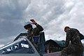 Молоді пілоти виконують польоти на бойових літаках Су-25, МіГ-29 та навчально-бойових Л-39 (27649047591).jpg