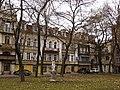 Одеса - Будинок Родоконакі (Катерининська вул., 7) вигляд зі скверу P1050153.JPG