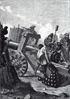 Siege of Narva (1558) - 16th century Russian siege weapon
