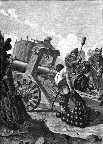Siege of Narva (1558) - 16th century Russian siege weapon