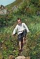 Сергей А. Виноградов - Мальчик поднимается вниз по набережной.jpg