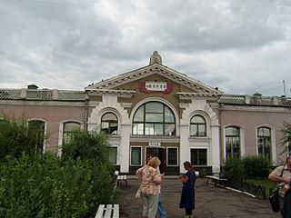 Borzya Town in Zabaykalsky Krai, Russia