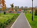 Ярославль. Детский городок в парке 1000-летия Ярославля. 9-10-2011г. - panoramio.jpg