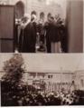 آیت الله میرزا خلیل کمره ای در حال نماز و سخنرانی در مسجد فخرالدوله تهران.png