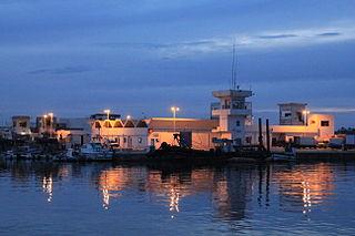 Gabès City in Tunisia
