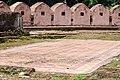 কারুকাজমন্ডিত মেঝে, ইদ্রাকপুর দুর্গ.jpg