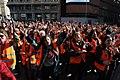 'Voluntarios por Madrid', flashmob multitudinario y nuevo chaleco por el Día Internacional del Voluntariado 2017 02.jpg