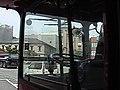 下関ロンドンバス(車内から見る唐戸) - panoramio.jpg