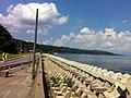 氷見の海岸道路から望む富山湾(Toyama Bay to see from the shore road of Himi) - panoramio (2).jpg