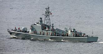 Type 037 corvette - Type 037II-class missile boat