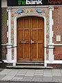 -2020-10-23 Front door to The Bank restaurant, Church Street, Sheringham.JPG