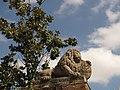 016 Lleó commemoratiu de la visita de Ferran VII, parc del Laberint (Barcelona).jpg