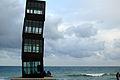 01 L'estel ferit, platja de la Barceloneta.JPG