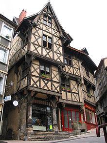 Rue De Charlieu  Cours La Ville