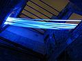 022 Llum BCN, instal·lació Teixint el passat, Baixada de Viladecols 5.JPG