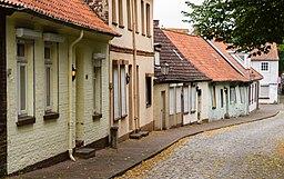 Hinter der Sülzmauer in Lüneburg
