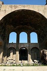 0 Basilique de Maxence et Constantin à Rome (3).JPG
