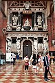0 Venise, monument du doge Giovanni Pesaro. - Basilica Sta Maria Gloriosa dei Frari.jpg