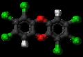 1,2,3,7,8,9-Hexachlorodibenzodioxin molecule ball.png