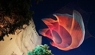 Biennial of the Americas - Janet Echelman: 1.26 Sculpture, 2010 Biennial of the Americas