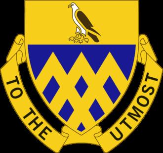 101st Cavalry Regiment - Image: 101Cav Regt DUI