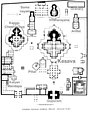 12th century Belur Chenna Kesava temples layout ground plan, Karnataka India.jpg