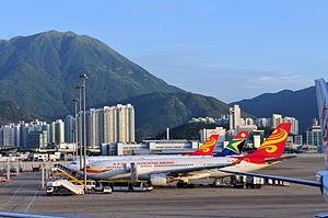 Hong Kong Airlines - Hong Kong Airlines Airbus A330-200 at Hong Kong International Airport