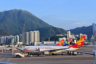 Hong Kong Airlines - Hong Kong Airlines Airbus A330-200 at Hong Kong International Airport