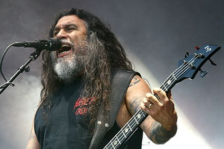 Bassist/vocalist Tom Araya was one of the two constant members of Slayer.