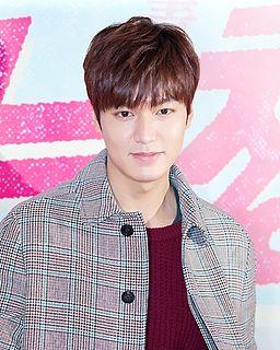 Lee Min-ho (actor, born 1987) South Korean actor, singer and model