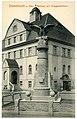 14956-Dommitzsch-1912-Rathaus mit Kriegerdenkmal-Brück & Sohn Kunstverlag.jpg