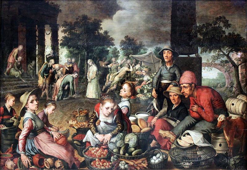 File:1559 Aertsen Marktstueck mit Christus und der Ehebrecherin anagoria.JPG