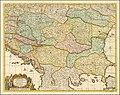 1729 map of the Balkans by Gerrit van Schagen.jpg