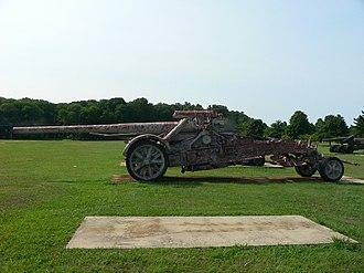 17 cm Kanone 18 - 17 cm K 18 in MrsLaf at the U.S. Army Ordnance Museum.