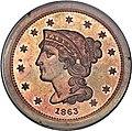 1863 3C Three Cents, Judd-319 Restrike, Pollock-384, R.5.jpg