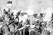 Scène de la bataille de Düppel