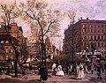 1886 Jacob Der Wilhelmsplatz im Fruehling anagoria.JPG